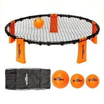 Volleyball Spike Game Set - Slam Ball Game Set - Played Outdoors, Indoor... - $35.32