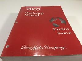 2003 Ford Taurus Sable Workshop Manual Original OEM Factory Service NICE - $99.99