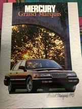 1992 Mercury Grand Marquis Showroom Dealer Sales Brochure Ford Motor Company  - $7.95