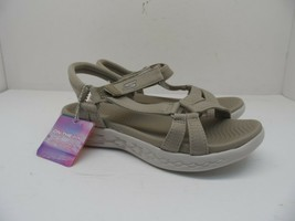 Skechers Women's On The Go 600 - Brilliancy Sandals 15316 Natural Size 6M - $52.24