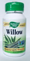 Nature's Way Willow 400 mg per cap 100 capsules each Free US Ship 11/202... - $12.85