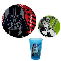Star Wars 3 Piece Dinnerware Set (A collection for Kohl's) Disney (New) - $19.79