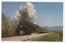 Norfolk & Western Railway 1218  Class A Railroad Train Roanoke Virginia ... - $4.95