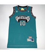 NEW Vancouver Grizzlies Mike Bibby #10 Basketball Green Jersey S-XXL.jpg - $26.66