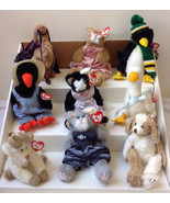 New Lot 9 NWT but Retired Ty Attic Treasures Assorted Animals Cats Dog P... - $14.47