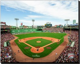 """Red Sox's Fenway Park 2018 """"Behind Home Plate"""" -16x20 Photo on Stretched... - $94.95"""