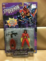 "Toy Biz The Amazing Spider-Man SPIDER-WOMAN 5"" Action Figure NRFP Black ... - $12.86"