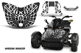 Hood Graphics Kit Decal Sticker Wrap For Can-Am F3-S Spyder Roadster WID... - $157.18