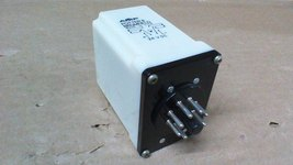 """Potter & Brumfield Time Delay """"On"""" Relay / 24VDC Coil / 1.0 To 180 SEC./(2)NO&NC - $68.00"""