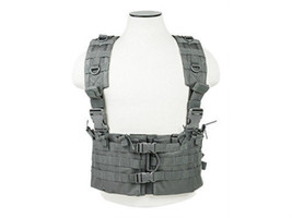 NcSTAR Gray Airsoft Tactical Vest AR Chest Rig ... - $34.50