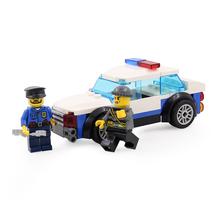 Building Blocks Policemen police truck car toys military mini figures Fi... - $16.00