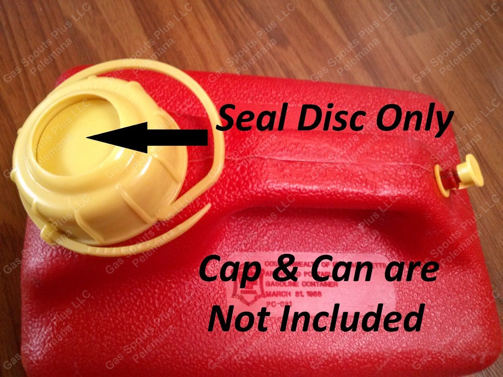 "/""5 NEW CHILTON SEAL DISCS/"" Sears Craftsman Gas Cans P10 P15 P20 P25 P50 P60 P500"