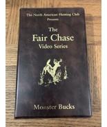 The Fair Chase Monster Bucks VHS - $11.64