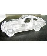 CORVETTE model, Hofbauer crystal car, birthday gift for him, glass paper... - $67.50