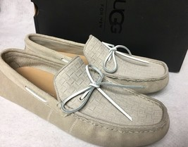 UGG Australia Men Everton Rivera Emboss Boat Shoe Slip On Loafer Ceramic 1014645 - $69.99