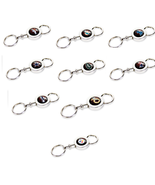 NFL Teams 3 inch Quick Release Key Chain Keychain - $8.99