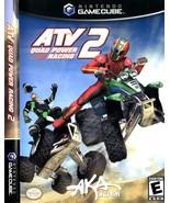 ATV Quad Power Racing 2 Nintendo Gamecube - Complete in Box  - $9.95