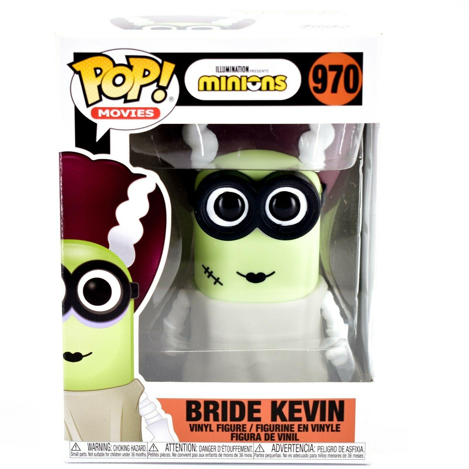 Funko Pop! Movies Minions Bride Kevin #970 Halloween Costume Vinyl Figure