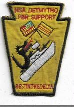 US Navy NAS Detmytho Per Support Best in the delta Vietnam Vintage Patch - $12.31