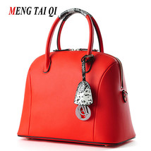 Genuine Leather Bags For Women Crossbody Handbags Real Leather Serpentine Women  - $128.79