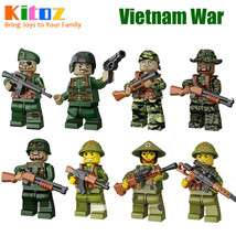 SA set Vietnam War Kitoz minifigure blocks lego Military Toy Gift for bo... - $43.78