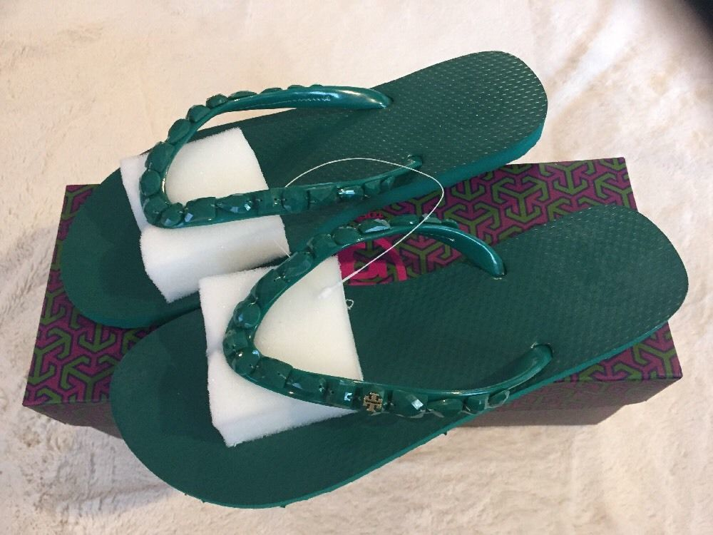 6e0bd5059d896c Tory Burch Jeweled Flip Flop Size 8 New and 50 similar items. S l1600