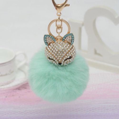Purse Charm Keychain New With Tags Mint Green