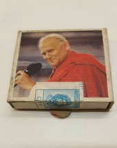 Italian SEALED Matchbook all Italian Pope John Paul II 1983 Excellent Co... - $34.64