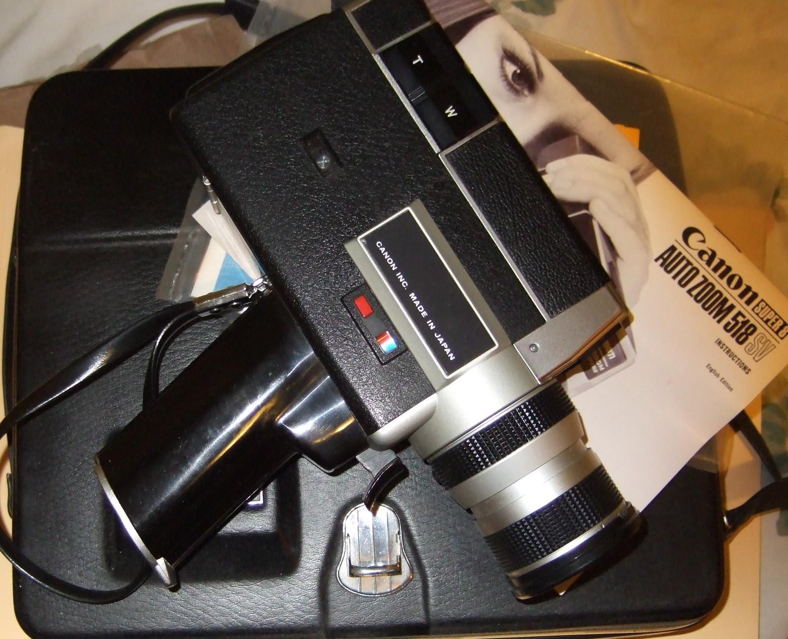 Canon Super 8 Movie Camera  Auto Zoom 518 SV