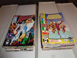 Marvel Comic Book Lot of 60 MOST MOST FN - VF Condition X-Men Daredevil Iron Man - $44.99