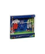 FAIRY GARDEN Miniature ~ Irish Fairy Door – Clothes Line with Male Clothes - $11.87