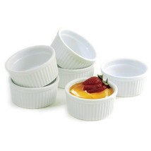 Norpro 261 4-Ounce Porcelain Ramekins, Set of 6 - $355,17 MXN