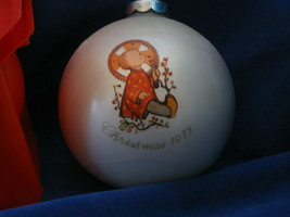 1975 Christmas Child ornament - Schmid Brothers - Second in series - $5.00