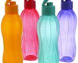 Tupperware Flip Top Water Bottle Set, 750ml, Set of 4 Free Shipping - £12.01 GBP