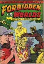 Forbidden Worlds Comic Book #8, ACG 1952 GOOD+ - $50.23