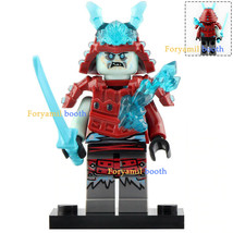 Blizzard Warrior with Ice Katana Ninjago Minifigures Toy Gift New - $2.75