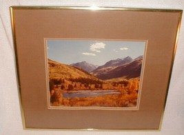 Photograph Framed Art Crystal River Western Signed Claude Haycraft - $80.00