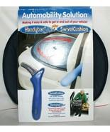AUTOMOBILITY SOLUTION Handybar Blue Plus Swivel Cushion Universal Fit NE... - $36.12