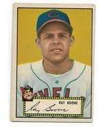 1952 Topps Black Back #55 Ray Boone, Cleveland Indians - $13.10