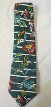 Looney Tunes Warner Bugs Taz Daffy Sylvester Football Collectible Neckti... - $10.00