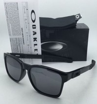 OAKLEY CATALYST Sunglasses OO9272-02 Black Frames Black Iridium Mirrored Lenses