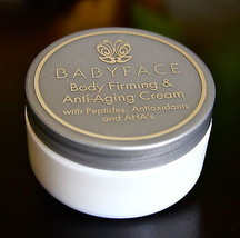 Babyface BODY FIRMING Cream Skin Tightening Cellulite AntiAging Peptides... - $34.64
