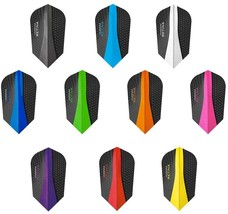 PerfectDarts 10 x Sets Harrows Retina Mixed Colour Dart Flights Slim - $17.99