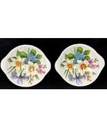 2 Royal Stafford Bone China Victoria's Secret Round Footed Soap Dish Eng... - $49.99