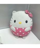2013 Ty Sanrio Round Ball Hello Kitty Plush Stuffed Animal 8″ - $29.99
