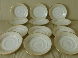 Noritake White Palace Saucers Set Of 12 - $75.00