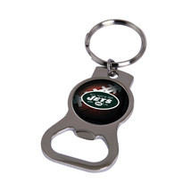 Non Metal Nfl New York Jets Bottle Opener Key Ring By Rico Industries (Length=1. - $11.62