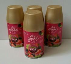 4 Glade BERRY POP Spray Refill - 6.2 oz each - $979.99