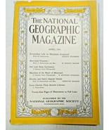 Vintage National Geographic 1940s Magazine WWII War Era Issue, April 1941 - $7.26