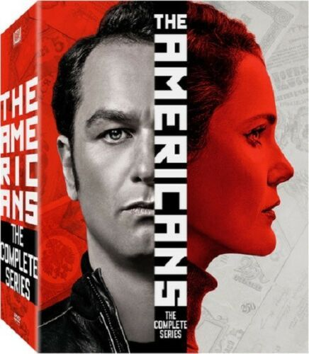 The Americans Complete Series Season 1 2 3 4 5 6 [New DVD Sets]